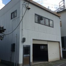 岸和田市倉庫付事務所